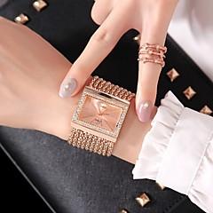 preiswerte Damenuhren-Damen Modeuhr Kleideruhr Quartz Armbanduhren für den Alltag Legierung Band Analog Modisch Silber / Gold / Rotgold - Gold Silber Rotgold