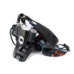 preiswerte Stirnlampen-Stirnlampen Kopfband für Taschenlampen Sicherheitsleuchten LED LED 10000 lm 1 Beleuchtungsmodus Professionell, Verschleißfest Camping / Wandern / Erkundungen, Für den täglichen Einsatz, Radsport
