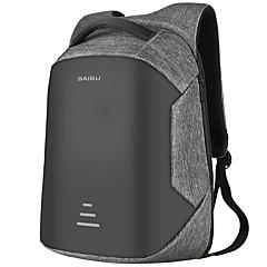 """preiswerte Laptop Taschen-Stoff Demin Solide Rucksäcke 16 """"Laptop"""