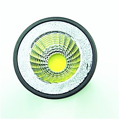 abordables Bombillas LED-1pc 5.5W 6.5W 600 lm GU10 Focos LED 1 leds COB Blanco Cálido Blanco Fresco 220-240V