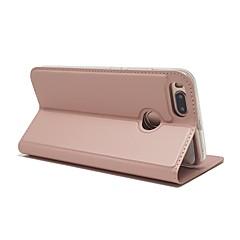 Недорогие Чехлы и кейсы для Xiaomi-Кейс для Назначение Xiaomi Mi 5X Бумажник для карт со стендом Чехол Сплошной цвет Твердый Кожа PU для Xiaomi Mi 5X