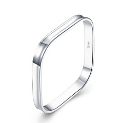 preiswerte Armbänder-Herrn Geometrisch Armreife - Modisch Armbänder Silber Für Geschenk Alltag