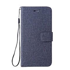 Недорогие Чехлы и кейсы для Xiaomi-Кейс для Назначение Xiaomi Redmi 4a Redmi 4X Бумажник для карт Кошелек со стендом Флип Чехол Сплошной цвет Твердый Кожа PU для Xiaomi