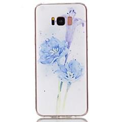abordables Galaxy S3 Carcasas / Fundas-Funda Para Samsung Galaxy S8 Plus / S8 Diseños Funda Trasera Flor Suave TPU para S8 Plus / S8 / S7 edge