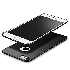 Недорогие Кейсы для iPhone 7 Plus-Кейс для Назначение Apple iPhone X Ультратонкий Кейс на заднюю панель Сплошной цвет Твердый пластик для iPhone X iPhone 8 Pluss iPhone 8