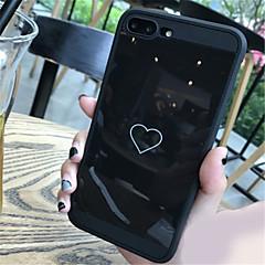 halpa iPhone 6 Plus kotelot-Etui Käyttötarkoitus Apple iPhone X iPhone 7 Plus Kuvio Takakuori Sydän Pehmeä TPU varten iPhone X iPhone 8 Plus iPhone 8 iPhone 7 Plus