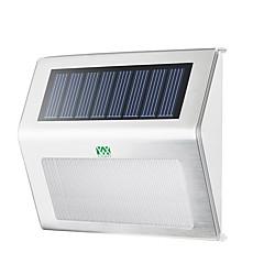 abordables Aplique para Exterior-YWXLIGHT® 1pc 2 W Luces solares LED Impermeable / Decorativa Blanco Cálido / Blanco Fresco 3.7 V Iluminación Exterior 2 Cuentas LED