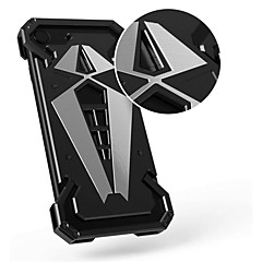 Недорогие Кейсы для iPhone 6-Кейс для Назначение Apple iPhone X iPhone 8 Защита от удара Кейс на заднюю панель броня Твердый Металл для iPhone X iPhone 8 Pluss iPhone