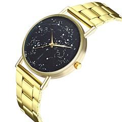 Χαμηλού Κόστους Ατσάλινο μπρασελέ για ρολόγια-Γυναικεία Κινέζικα Μεγάλο καντράν / Πανκ / Απίθανο Ανοξείδωτο Ατσάλι Μπάντα Μοντέρνα Χρυσό