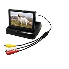 Недорогие Автоэлектроника-4.3 дюймовый Цифровой экран LCD (выше определение чем anolog экран) 480p 1/4 дюймовый CMOS PC7030 Проводное 170° Камера заднего вида Водонепроницаемый / Автоматическое конфигурирование / LCD экран для