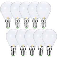 お買い得  LED 電球-EXUP® 10個 7W 680lm E14 E26 / E27 LEDボール型電球 G45 6 LEDビーズ SMD 2835 装飾用 温白色 クールホワイト 110-130V 220-240V
