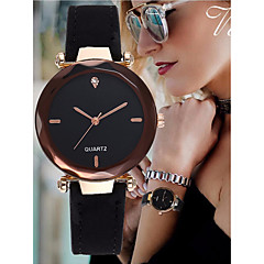 cheap Women's Watches-Women's Bracelet Watch Chinese Imitation Diamond Leather Band Elegant / Bangle Black / Red / Green