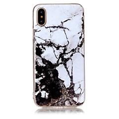 お買い得  iPhone 5S/SE ケース-ケース 用途 Apple iPhone X iPhone 8 超薄型 バックカバー マーブル ソフト TPU のために iPhone X iPhone 8 Plus iPhone 8 iPhone 7 Plus iPhone 7 iPhone 6s Plus iPhone