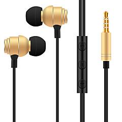 billige Headset og hovedtelefoner-T018 I øret Audio Indgang Hovedtelefoner Dynamisk Aluminum Alloy Sport & Fitness øretelefon Headset