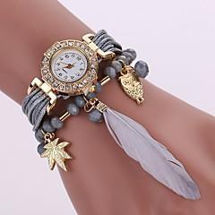 tanie Zegarki na bransoletce-Damskie Kwarcowy Zegarek na bransoletce Chiński Na codzień PU Pasmo Na co dzień Modny Czarny Biały Niebieski Czerwony Szary