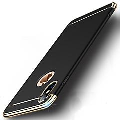 Недорогие Кейсы для iPhone X-Кейс для Назначение Apple iPhone X iPhone 8 Защита от удара Покрытие Ультратонкий Чехол Однотонный Твердый ПК для iPhone X iPhone 8 Pluss