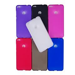 お買い得  Huawei Pシリーズケース/ カバー-ケース 用途 Huawei P8 Lite(2017) P10 Lite つや消し バックカバー 純色 ソフト TPU のために P10 Lite P10 Huawei P9 Lite Huawei P9 P8 Lite (2017) Huawei P8 Lite