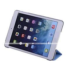 abordables Carcasas y Fundas para iPad Air 2-Funda Para Apple con Soporte / Activado / Apagado Automático / Origami Funda de Cuerpo Entero Un Color Dura Cuero de PU para iPad Air / iPad 4/3/2 / iPad Mini 3/2/1 / iPad Pro 10.5 / iPad (2017)