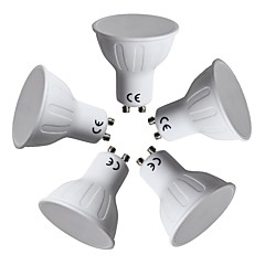 preiswerte LED-Birnen-5 Stück 10W 390lm GU10 LED Spot Lampen 11 LED-Perlen SMD 2835 Warmes Weiß 220-240V