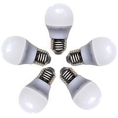 お買い得  LED 電球-5個 4W 360lm E26 / E27 LEDボール型電球 G45 8 LEDビーズ SMD 2835 温白色 220-240V
