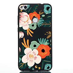tanie Nowości-Kılıf Na Huawei P20 lite P20 Wzór Czarne etui Kwiaty Miękkie TPU na Huawei P20 lite Huawei P20 P10 Lite P10 Huawei P9 Lite P8 Lite (2017)