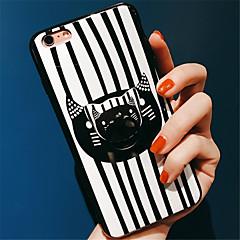 Недорогие Кейсы для iPhone-Кейс для Назначение Apple iPhone 6 Plus iPhone 7 Plus С узором Кейс на заднюю панель Животное Мягкий Силикон для iPhone 8 Pluss iPhone 8