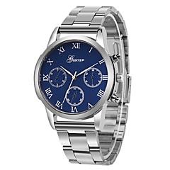 お買い得  メンズ腕時計-女性用 中国 クロノグラフ付き / 大きめ文字盤 ステンレス バンド カジュアル / バングル シルバー