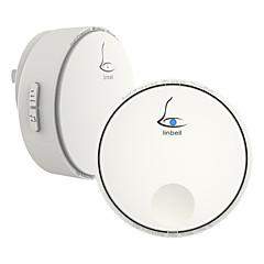 abordables Sistemas de Control de Acceso-Linbell G2 Sin Cable Timbre de uno a uno Música / Ding Dong Sonido ajustable Auto-Adhesivas Timbre de la puerta