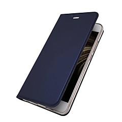 お買い得  Huawei Pシリーズケース/ カバー-ケース 用途 Huawei P10 Lite P10 Plus カードホルダー スタンド付き フリップ 磁石バックル フルボディーケース ソリッド ハード PUレザー のために P10 Plus P10 Lite P10 Huawei P9 Lite Huawei P9