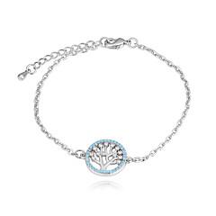 preiswerte Armbänder-Damen Kubikzirkonia Armband - Baum des Lebens Europäisch, Modisch Armbänder Gold / Silber Für Alltag