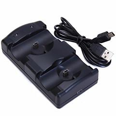 preiswerte PS3 Zubehör-PS3 Move Mit Kabel Ladegerät Für Sony PS3 . Ladegerät Metal / ABS 1 pcs Einheit