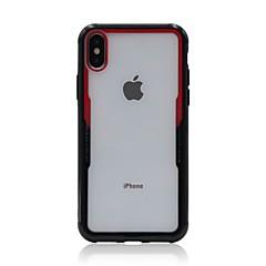 Недорогие Кейсы для iPhone 7-Кейс для Назначение Apple iPhone X iPhone 8 Прозрачный Кейс на заднюю панель Однотонный Твердый Акрил для iPhone X iPhone 8 Pluss iPhone