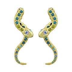 preiswerte Ohrringe-Tropfen-Ohrringe - Schlange Modisch Gold Für Alltag / Verabredung