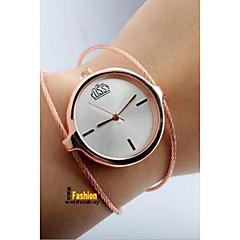 preiswerte Damenuhren-Damen Paar Armbanduhren für den Alltag Modeuhr Quartz Armbanduhren für den Alltag Legierung Band Analog Freizeit Modisch Silber - Schwarz Silber Rose
