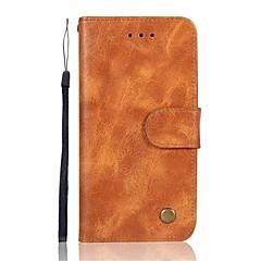 Недорогие Чехлы и кейсы для Huawei Mate-Кейс для Назначение Huawei Mate 10 Mate 10 lite Бумажник для карт Кошелек Флип Магнитный Чехол Однотонный Твердый Кожа PU для Mate 10