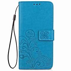 Χαμηλού Κόστους Θήκες / Καλύμματα για Huawei-tok Για Huawei P20 lite P20 Pro Ανοιγόμενη Ανάγλυφη Πλήρης Θήκη Μάνταλα Πεταλούδα Σκληρή PU δέρμα για Huawei P20 lite Huawei P20 Pro