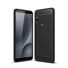 Недорогие Чехлы и кейсы для Xiaomi-Кейс для Назначение Xiaomi Redmi Note 5 Pro Mi 6X Матовое Кейс на заднюю панель Однотонный Мягкий ТПУ для Xiaomi Mi 6X