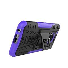 Недорогие Чехлы и кейсы для Motorola-Кейс для Назначение Motorola G5 G5 Plus Защита от удара со стендом броня Кейс на заднюю панель Плитка броня Твердый ПК для Moto Z2 play