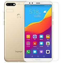 abordables Protectores de Pantalla para Huawei-Protector de pantalla Huawei para Honor 7C(Enjoy 8) Y9 (2018)(Enjoy 8 Plus) PET Vidrio Templado 2 pcs Protector de lente frontal y de
