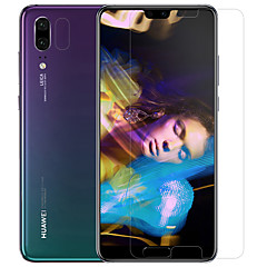 abordables Protectores de Pantalla para Huawei-Protector de pantalla Huawei para Huawei P20 PET Vidrio Templado 2 pcs Protector de lente frontal y de cámara Anti-Reflejos Anti-Huellas