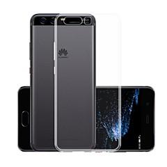 お買い得  Huawei Pシリーズケース/ カバー-ケース 用途 Huawei P10 Plus クリア バックカバー ソリッド ソフト TPU のために P10 Plus