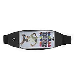 Недорогие Универсальные чехлы и сумочки-Кейс для Назначение SSamsung Galaxy Универсальный Защита от влаги / с окошком Мешочек Однотонный Мягкий Ластик для S9 Plus