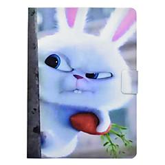 Недорогие Кейсы для iPhone-Кейс для Назначение Apple iPad mini 4 iPad Mini 3/2/1 Бумажник для карт Защита от удара со стендом Флип Авто Режим сна / Пробуждение Чехол