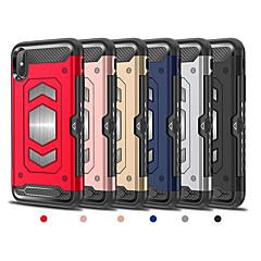 Недорогие Кейсы для iPhone 6-Кейс для Назначение Apple iPhone X / iPhone 8 Plus Бумажник для карт / броня Кейс на заднюю панель броня Твердый ТПУ для iPhone X /