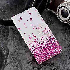 Недорогие Чехлы и кейсы для Sony-Кейс для Назначение Sony Xperia XZ2 / Xperia XZ2 Compact Бумажник для карт / Кошелек / со стендом Чехол С сердцем Твердый Кожа PU для