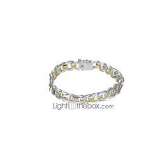 preiswerte Armbänder-Hohl Ketten- & Glieder-Armbänder / Breites Armband - Retro Armbänder Silber Für Alltag / Arbeit