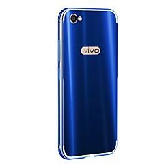 お買い得  その他のケース-ケース 用途 Vivo X9 Plus X9 メッキ仕上げ バックカバー ソリッド ハード アルミニウム のために Vivo X9 Plus Vivo X9 Vivo X7 Plus Vivo X7 Vivo X6
