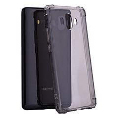 Недорогие Чехлы и кейсы для Huawei Mate-Кейс для Назначение Huawei Y9 (2018)(Enjoy 8 Plus) / Mate 10 Защита от удара / Полупрозрачный Кейс на заднюю панель Однотонный Мягкий ТПУ