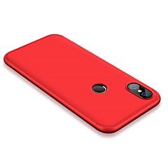Недорогие Чехлы и кейсы для Xiaomi-Кейс для Назначение Xiaomi Mi 6 / Mi 6X Защита от удара / Матовое Чехол Однотонный Твердый ПК для Xiaomi Mi 6X(Mi A2) / Xiaomi Mi 6 / Xiaomi Mi 5X / Xiaomi Mi 5s