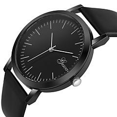 お買い得  メンズ腕時計-男性用 リストウォッチ 中国 クロノグラフ付き / クリエイティブ / カジュアルウォッチ PU バンド ファッション ブラック / 白